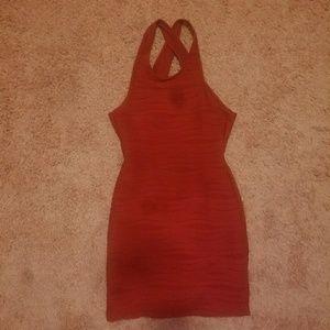 Charolette Russe body con-esk dress